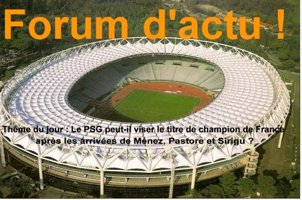 Forum d'actu : 