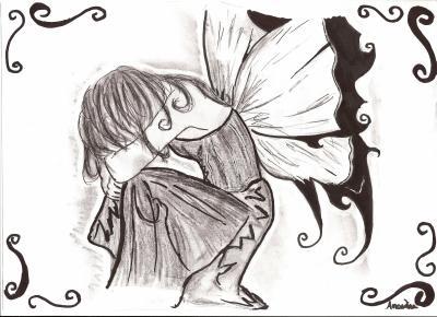 Fantasy3 dessin manga ange f e - Ange facile a dessiner ...
